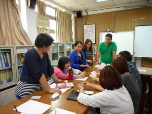 聊育卡輔導室示範教學